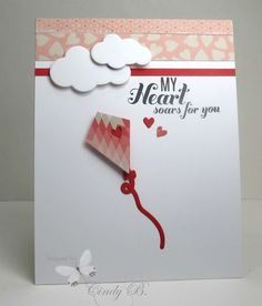 Stamps, Paper, and Ink: CAS Valentine-My heart