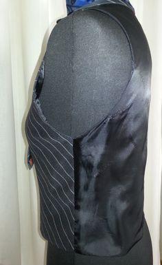 Back of the vest