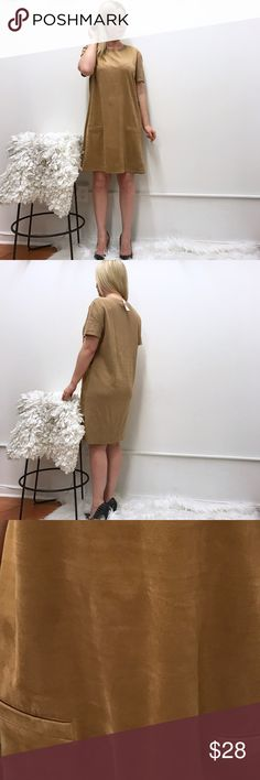 """NY & Co Suede feel XL dress NWT New NY & co dress. Suede feel on the front, regular on the back. Sz XL. Chest flat across 22""""-23.5"""" length 36.5"""" will also look great on a L for a looser cut. New York & Company Dresses"""