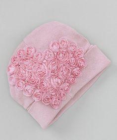 Look at this #zulilyfind! Truffles Ruffles Dusty Pink Sweetheart Beanie by Truffles Ruffles #zulilyfinds