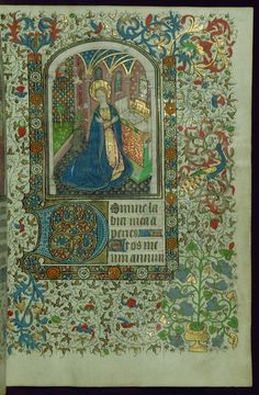 W.267, fol. 14r. France, ca. 1450-60.