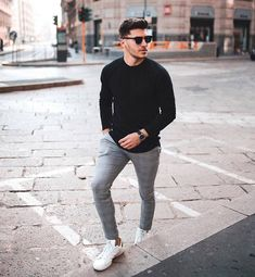57 Casual Street Style Outfits for Men - Artbrid - Stylish Mens Outfits, Casual Outfits, Men Casual, Casual Outfit For Men, Nice Outfits For Men, Stylish Clothes, Smart Casual, Mode Outfits, Fashion Outfits