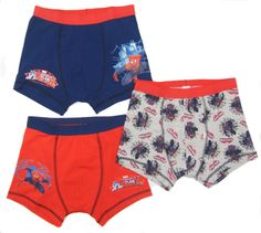 Boys spider -man #boxer #shorts trunk underwear three pack ex #store 2-3 to 11-12,  View more on the LINK: 	http://www.zeppy.io/product/gb/2/351712466794/