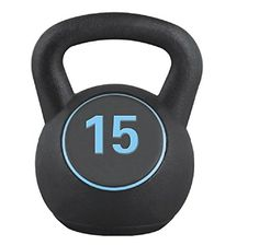 Movement God Fitness Cement Filled Kettlebell15KGBlack -- See this great product.