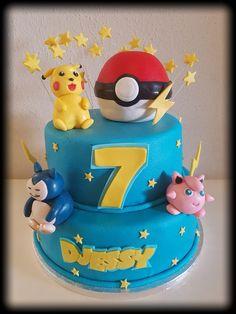 Pokemon birthday cake / verjaardagstaart