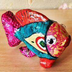 Рыбка выполненная в технике декупач...В наличии...возможны работы на заказ по желанию клиента.