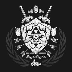 HYLIAN CREST T-Shirt $11 Legend of Zelda tee at RIPT today only!