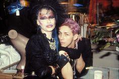 1980s Vintage street Style fashion photography. New Romantics / Goths