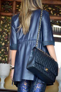 Chanel Double Flap Caviar Bag #caviar #chanel #classic