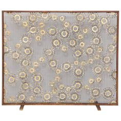"""Marie Suri """"Constellation"""" Fire Screen   From a unique collection of antique and modern fireplaces and mantels at https://www.1stdibs.com/furniture/building-garden/fireplaces-mantels/"""