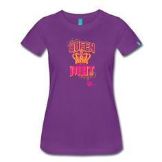 Queen of the Mat // Exclusive t-shirts, hoodies, and iPhone cases for allstar, rec, pop warner, and high school cheerleaders!  Available only from The Cheer Society!