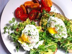 Avocado Toast Poached Eggs Pea Shoots3