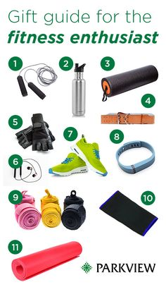 Gift Guide for the fitness enthusiast — #holiday #shopping