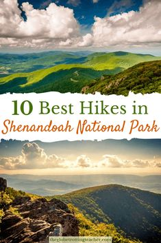 Planning a trip to Shenandoah National Park in Virginia? See the national park from the famous Skyline Drive. Along the way, hike the peaks and visit Shenandoah's waterfalls for some of the best hiking on the east coast. Shenandoah National Park, Sequoia National Park, Rocky Mountain National Park, Shenandoah Virginia, Shenandoah Valley, Shenandoah Mountains, Bryce Canyon, Grand Canyon, Usa