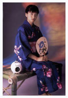 浴衣姿の少女 yukata girl