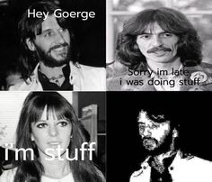 The Beatles memes Beatles Meme, The Beatles, The Quarrymen, Hits Movie, Let's Get Married, Classic Rock, I Laughed, Stuff To Do, Fangirl