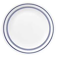 Clean, classic lines and practically unbreakable when dropped! My kind of dinnerware!