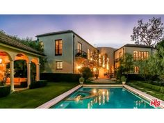Majestic Mediterranean home in Larchmont for sale.