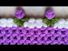 Filet Crochet, Crochet Stitches, Crochet Patterns, Hand Embroidery Art, Ribbon Embroidery, Crochet Baby, Knit Crochet, Crochet Bedspread, Crochet Instructions