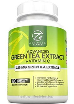 Green Tea Extract Supplement with EGCG for Weight Loss – Decaffeinated Vegetarian Pills for Metabolism Boost and Heart Health with Vitamin C – Natural Source of Energy- 120 Vcaps by Zenwise Labs  Check It Out Now     $39.97    Zenwise Health's Advanced Green Tea Extract contains a unique blend of caffeine-free Green Tea extract and Vitamin C, ..  http://www.healthyilifestyles.top/2017/03/10/green-tea-extract-supplement-with-egcg-for-weight-loss-decaffeinated-vegetarian-pills-for..