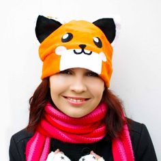 fox hat by AthenasWink on Etsy, $20.00