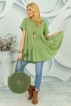 Tunika Velada Spring Collection, Tunic Tops, Women, Fashion, Tunic, Moda, Fashion Styles, Fashion Illustrations, Woman
