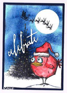 Rosie's Bastelwelt: First Christmas Card