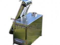 Exteriérový ohrievač dreva - obdĺžnikový model