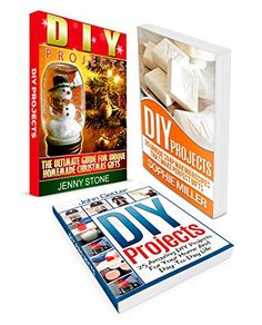 DIY Projects Box Set: 25 Amazing DIY Projects For Your Home And Day-To-Day Life combined with 25 Unique Soap Making Recipes That Make Perfect Gifts (diy projects, diy gifts, diy decorating ideas) by John Getter http://www.amazon.com/dp/B010KXGBEU/ref=cm_sw_r_pi_dp_6WuXvb1VPBD88