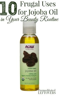 CJojoba oil can make a wonderful addition to your health and beauty routine. Here are 10 Frugal Uses for Jojoba Oil in Your Beauty Routine