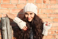 Winter Hat womans winter hat slouchy beanie knit by GeromeSM, $29.99