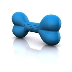The one-of-a-kind Hydrobone has a foam core that absorbs and releases water as your dog chews it.