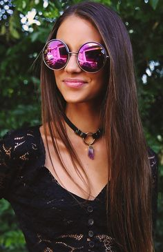 a0c1484984 Chelsea Girl Sunglasses - Gunmetal Girl With Sunglasses