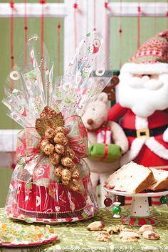 Embalagem especial para o panetone de Natal TUTORIAL