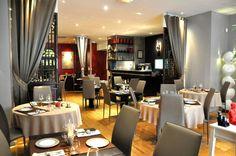 Restaurant les 5 sens à Avignon. Raffinement et talent du chef vous ferons passer un moment très agréable.