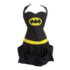 Tribute to Batman sexy apron ❤ liked on Polyvore featuring home, kitchen & dining, aprons and dresse