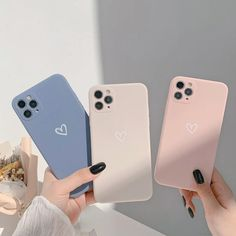 🍀$12.99 🚚FREE SHIPPING 🌟Function: Dirt-resistant Function: Anti-knock Material: Soft Silicone Candy color Shockproof silicone soft heart phone case for iphone 12 mini 11 Pro Max XR X XS MAX 7 8 Plus case Iphone 7 Plus, Iphone 8, Iphone Phone Cases, Silicone Iphone Cases, Phone Cover, Girly Phone Cases, Pretty Iphone Cases, Unique Iphone Cases, Heart Sketch