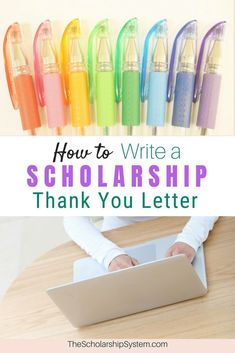How to write a scholarship thank you letter with a free - Once your student has a scholarship award check in hand, they may believe theres nothing left to do.However, receiving the check shouldnt be the end of the story. Scholarships For College Students, School Scholarship, Student Loans, College Fun, Education College, College Tips, Education Galaxy, College Crafts, Kids Education