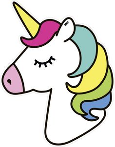This is such a good template to print and use if you love unicorns! Easy Cartoon Drawings, Cute Easy Drawings, Art Drawings For Kids, Kawaii Drawings, Disney Drawings, Drawing For Kids, Unicorn Drawing, Unicorn Art, Cute Unicorn