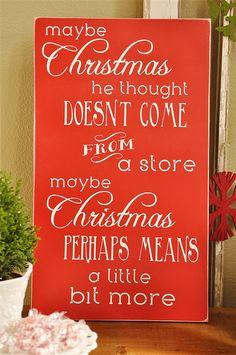 Dr. Seuss Christmas Quote Subway Art Tutorial  @yourhomebasedmom.com