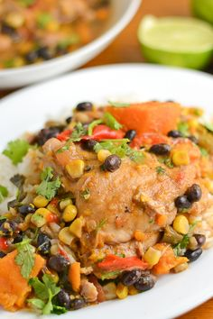 Slow Cooker Latin Style Chicken