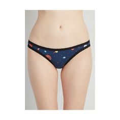 Vintage Inspired Planet of Action Undies ($9.99) ❤ liked on Polyvore featuring intimates, panties, blue, bras - underwear, foundation, underwear, underwear panties, blue panties y vintage style panties