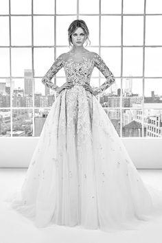 Zuhair Murad Frühjahr/Sommer 2018 Bridal - Fashion Shows Hijab Wedding Dresses, Wedding Dresses 2018, Bridal Dresses, Prom Dress, Zuhair Murad Bridal, Zuhair Murad Dresses, Pippa Middleton Wedding Dress, Marie Laporte, Beautiful Wedding Gowns