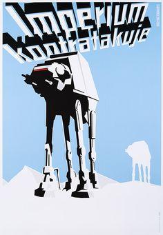 Książek Michał, Imperium kontratakuje (Empire Strikes Back, Star Wars), 2015, Size: B1