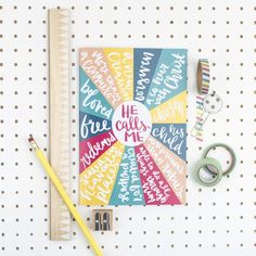 This bright and colourful notebook is a wonderful reminder of your identity in Christ. It features a circular design with words from Scripture. Verses For Cards, Scripture Cards, Retreat Gifts, Retreat Ideas, Bday Gifts For Him, Romantic Gifts For Him, Christian Gifts For Women, Identity In Christ, Gifts For Teens