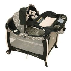 Graco Silhouette Pack 'N Play Playard with Bassinet and Changer, Rittenhouse (Baby Product)  http://www.amazon.com/dp/B000MXL04U/?tag=goandtalk-20  B000MXL04U