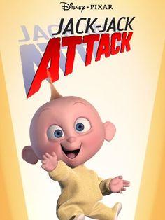 Pixar Animation Studios (Pixar) is an American computer animation film studio based in Emeryville, California. Pixar is a subsidiary of The Walt Disney Company. Jack And Jack, Jack Jack Attack, Baby Sitting, Roger Rabbit, Looney Tunes, Disney Magic, Disney Pixar, Disney Marvel, The Incredibles 1