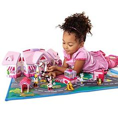 Minnie Mouse Pet Shop Play Set Collection
