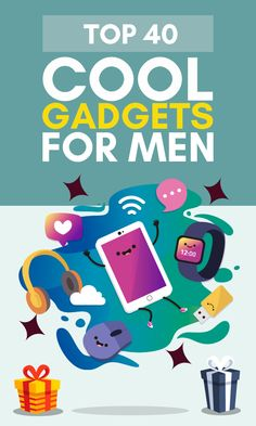 Whether he's a techie or not you can excite any guy by giving him one of the latest must-have gadgets! Check out this top 10 list with cool gadgets for men. Best Presents For Men, Tech Gifts For Men, Best Gifts For Him, Gifts For Dad, Gadgets For Dad, Cool Gadgets For Men, Unique Gifts For Boyfriend, Boyfriend Gifts, Christmas Gifts For Him