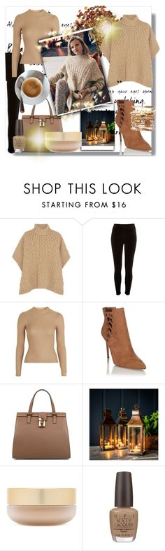 """""""poncho"""" by bosnjakovic001 ❤ liked on Polyvore featuring MICHAEL Michael Kors, River Island, Topshop, Lipsy, Dolce&Gabbana, Free People, Eve Lom and OPI"""